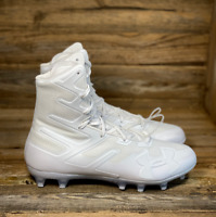 Under Armour UA Highlight MC Mens Football Cleats Size 9 White New 3000177-100