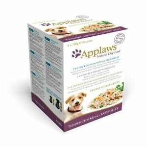 Applaws Natural Dog Food Chicken in Jelly Pouch Finest Collection 5x100g