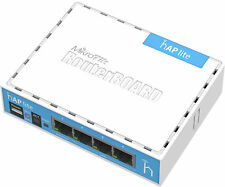MikroTik Hap Lite Classic Router Rb941-2nd Wireless Access Point 32mb RAM 4xlan