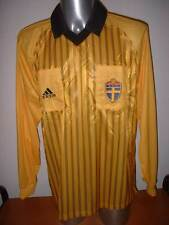 Sweden BNWT Sverige Adidas Referee Vintage Adult XL Shirt Jersey Football Soccer
