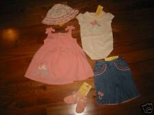 GG46+ NWT 3-6 Gymboree Made with Love Girls Summer Lot