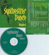SYNTHESIZER DANCE VOLUME.6-SWITZERLAND-HYPERSOUND RECORDS HYPS 71023-CD-NEW