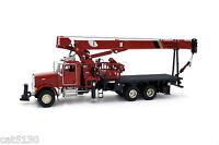 "National Crane 1300H Peterbilt Truck Crane ""RED"" - 1/50 - TWH #048-01037"