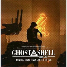 Ghost in the Shell anime Music Soundtrack Japanese Cd 2.0 Original Soundtrack