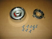 64 Chevelle and El Camino Wood Wheel Horn Cap Kit, Cap, Contact and Screws