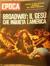 EPOCA 1101 1971 Jesus Christus Superstar scandalo