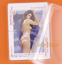 54 Super Model Sexy Poker Paper Playing Cards Brand New Collectibles