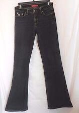 Paris Blues Denim Black Jeans  5 Boot cut Dark Wash