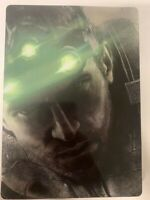 Splinter Cell Blacklist SteelBook Case Only! Brand New Case NO GAME INCLUDED!