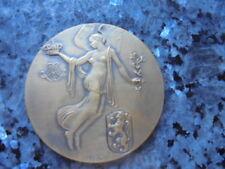 belle medaille  jeton congo  belge
