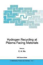 Hydrogen Recycling at Plasma Facing Materials (NATO Science Series II: Mathemati