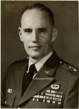 Orig. Photo, US.- Generalleutnant Bruce Palmer, 1968