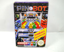 PIN BOT Spiel mit original Box 1985 NES Nintendo Entertainment System (K85)