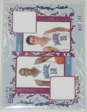 2006/07 Dwight Howard/Darko Milicic Topps Luxury Box Dual Jersey Card Ser #/299