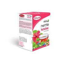 Morlife Teabags Nettle Revive 25's x2 Box's | Nettle Leaf Herbal Tea