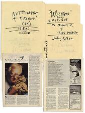 Ray Bradbury Handwritten Folder re One of Ray's Cats