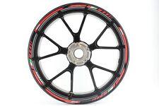 Motorbike Car Wheel Rim Trim Tape Rimstriping Sticker Decals Ducati - Red