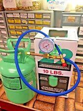 R22, Refrigerant Disposable Cylinder, 10 lb, Virgin R-22, Special Gauge & Hose