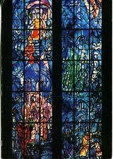 CARTE POSTALE ANCIENNE-cathedrale de Reims-Vitraux de Chagall