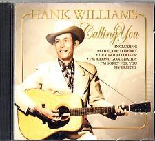 HANK WILLIAMS  CALLING YOU - CD album COUNTRY MUSIC