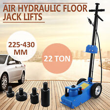 22TON SUPER LOW PROFILE LIFT FLOOR AIR HYDRAULIC TRUCK TROLLEY JACK BEST HIGH