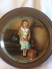 1985 Knowles Collectible China Plate 'A Young Girl's Dream' By Norman Rockwell