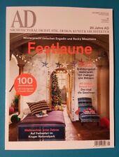 AD  Dez/Jan 2018 Archit. Digest Stil Design Kunst&Architektur ungel. 1A