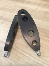 C S P BUTT PLATE AIR RIFLE SLING  MOUNT BLACK  TO FIT  WEIHRAUCH HW97 synthetic