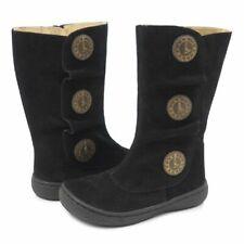 NIB LIVIE & LUCA Shoes Boots Tiempo Marchita Black Suede 10 11 12 13