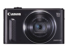 Canon PowerShot SX610 HS 20.2MP Digital Camera - Black