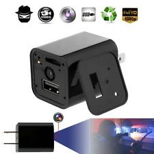 Full HD1080P IP Spy Hidden Camera Camcoder DV USB Wall Adapter US Plug Charge GG