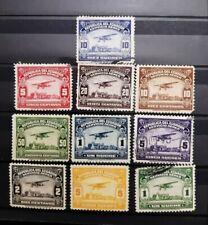 ECUADOR . Lote de sellos antiguos de correo aéreo .
