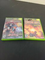 Lot of 2 XBOX Games MechAssault & Crimson Skies Both Tested and work 100%