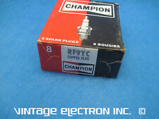 (Set of 8) CHAMPION RF9YC (409) Spark Plugs - ($29.95/set, 65-66 Ford Mustang)