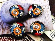 20pcs Japanese Design Handmade Glass Cabochons | 12mm Round