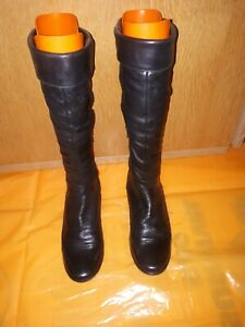 Diba Ladies Boots Black High Knee