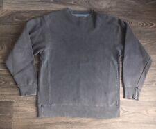 STUSSY Sweatshirt Grey Sweater Sewn Gusset Stitch XXV Crewneck Men L