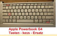 Apple Powerbook MacBook Tasten keys Alu-farben Ersatz Ein/Aus keyboard