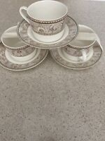 Optima Cup & Saucer Newport Christopher Stuart Very Strong Fine China Set 3