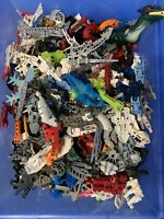 1 Lb Pound of Lego Bionicle Hero Factory Random Mixed Bulk Pieces MOC