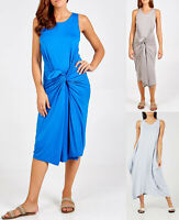 Ladies Parachute Dress Womens Lagenlook Tunic Top Tulip Baggy Romper Plus Size