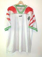 WOW! MATCH WORN 1995 BULGARIA Football Shirt Jersey size XL PUMA Tricot Maglia