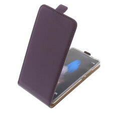 Funda para Huawei P9 Lite protectora Teléfono Móvil con Tapa Carcasa Púrpura