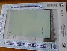 Microscale Decal N #60-118 Northern Pacific - NP -- Steam Locos 1889-1958