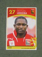 COSTA RICA Froylan Ledezma (Admira) Augsburg Ajax Amsterdam OHNE UNTERSCHRIFT