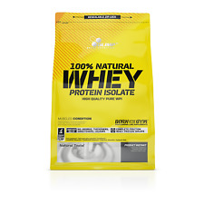 OLIMP 100% Natural Whey Protein Isolate WPI 600g FREE SHIPPING .