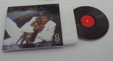 Mini  'Michael Jackson THRILLER' record album Dollhouse BARBIE KEN BLYTHE 1/6