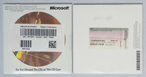Microsoft Office 2007 Professional - englisch - OEM mit CD - mit Word, Access us