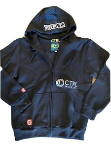 ctrl industries black sweat suit xl Pants Sweatshirt NEW