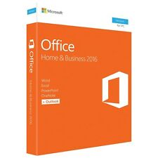 Microsoft Office 2016 Home and Business 1 PC Office Suite T5D-02776